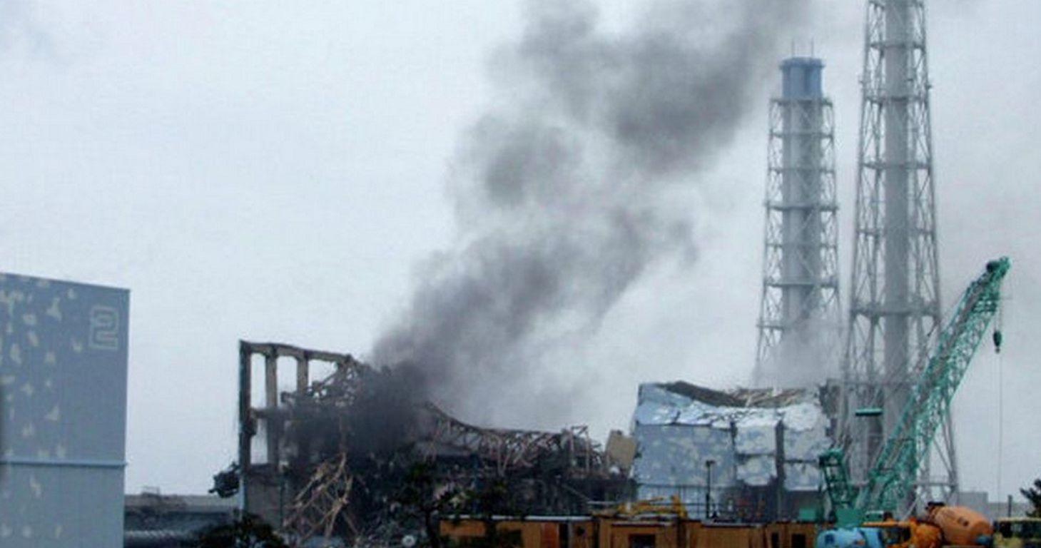 Fukushima zerstoertes AKW Flickr CC