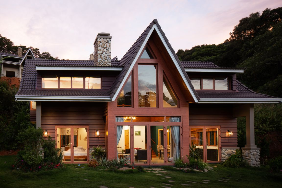 Klimaschonend leben im Holzhaus