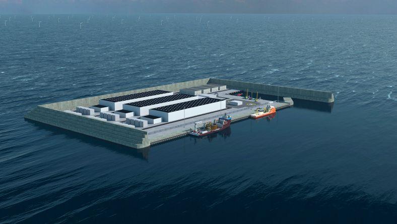 Dänemark baut eine riesige Energieinsel