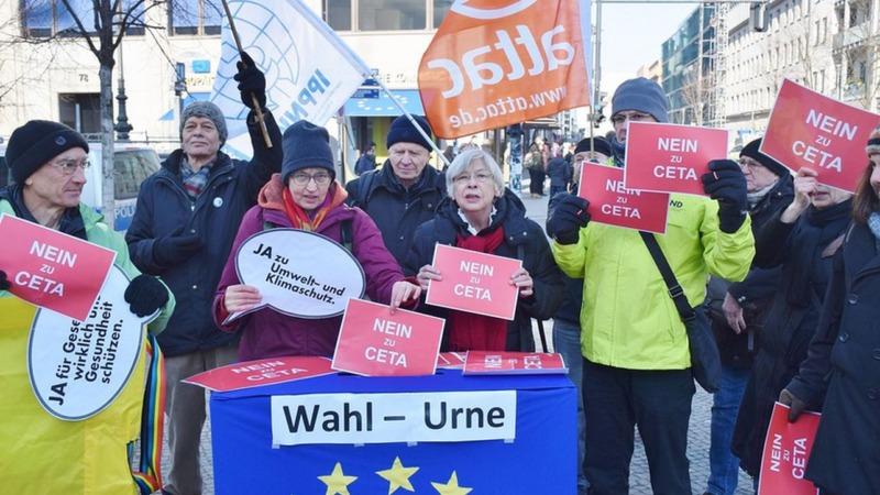 Freihandelsabkommen: Wortbruch der Grünen