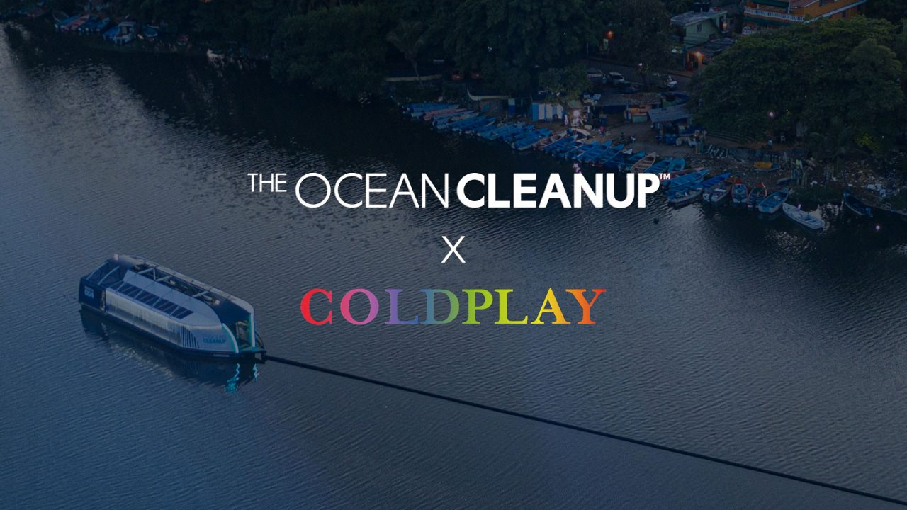 The Ocean Cleanup und Coldplay
