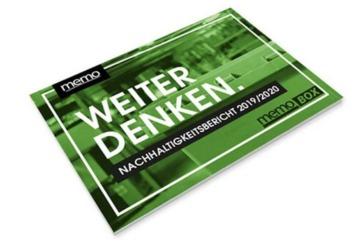 Memo Nachhaltigkeitsbericht Cover