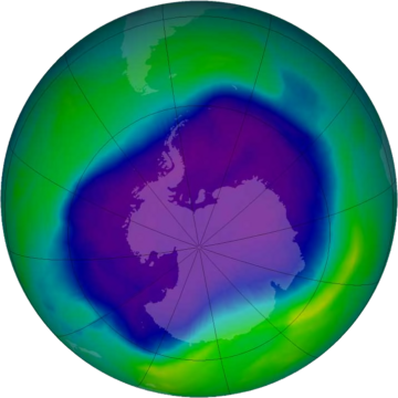 NASA and NOAA Announce Ozone Hole is a Double Record Breaker