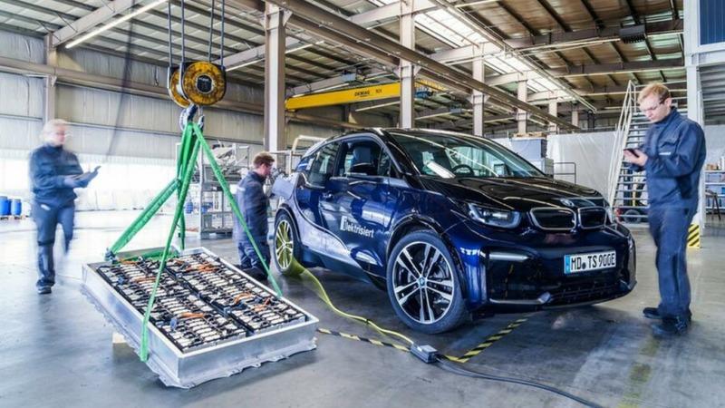 E-Autos: Batterien vorzeitig im Müll