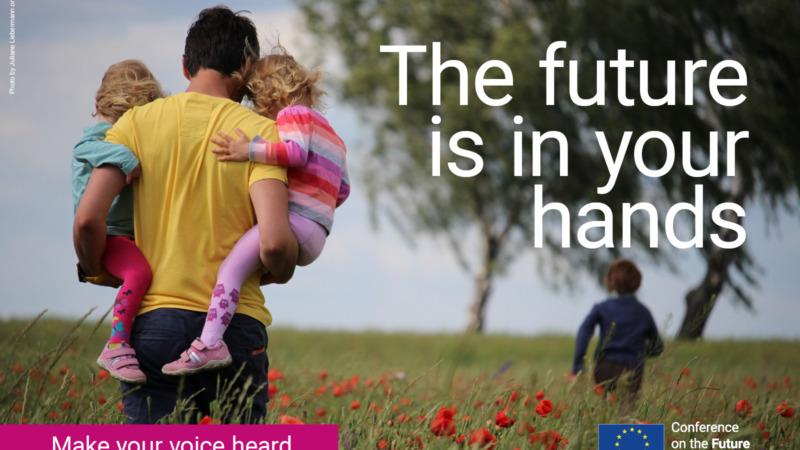 Bürgerplattform für Ideen zur Zukunft Europas