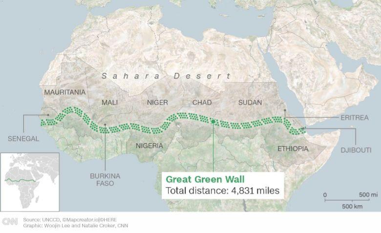 karte great green wall