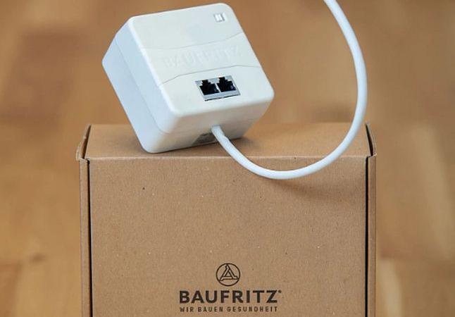 """Baufritz WLAN-Protect"": hocheffizienter Minirouter"