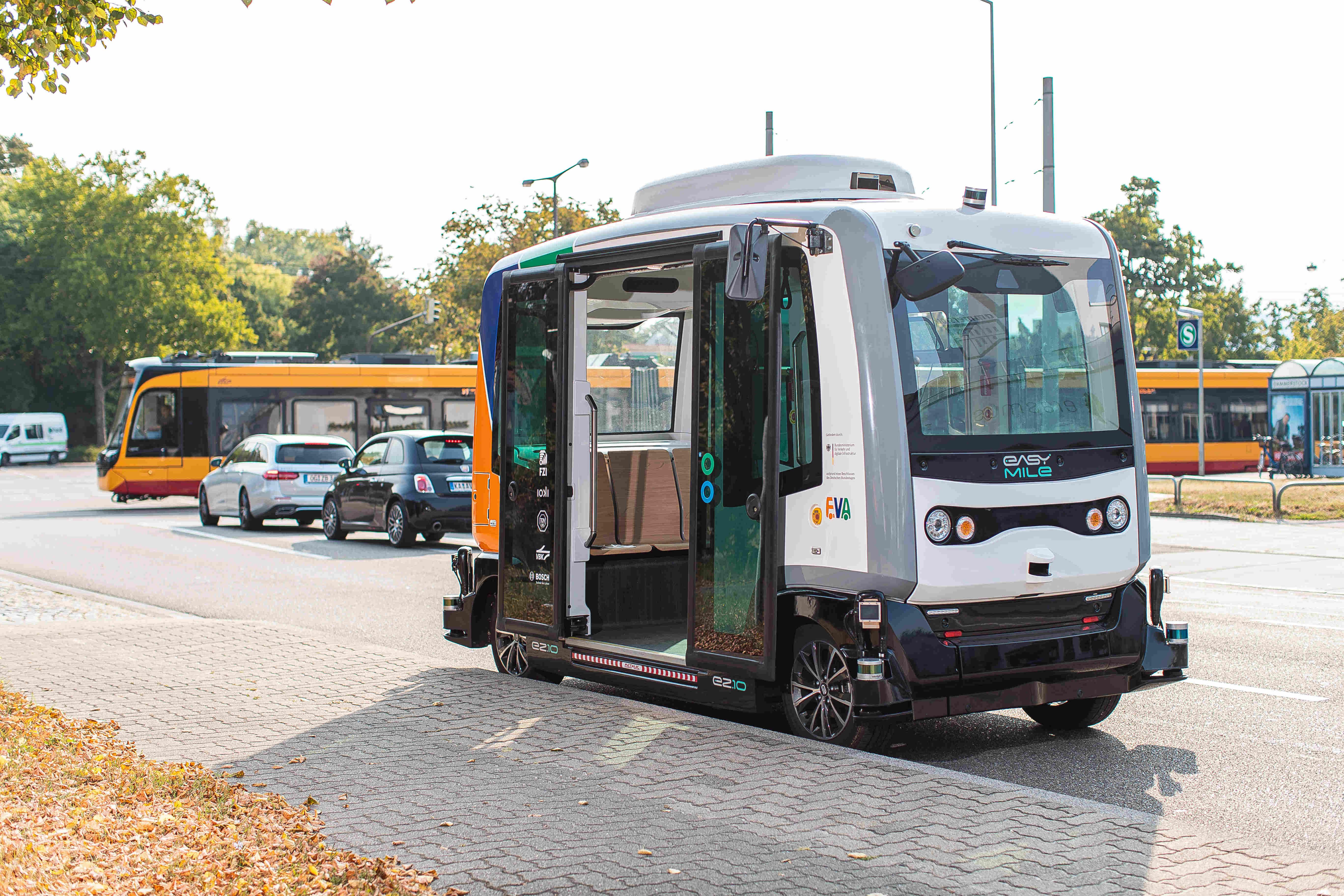Karlsruhe testet autonome Busse