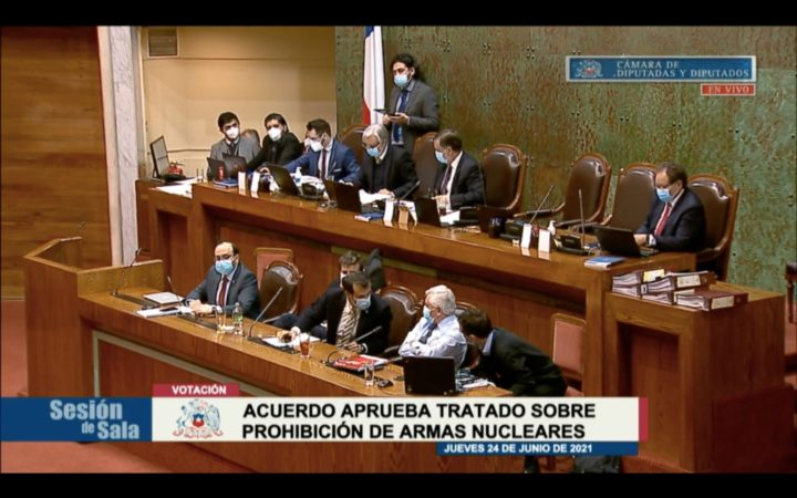 Chile billigt Atomwaffenverbotsvertrag