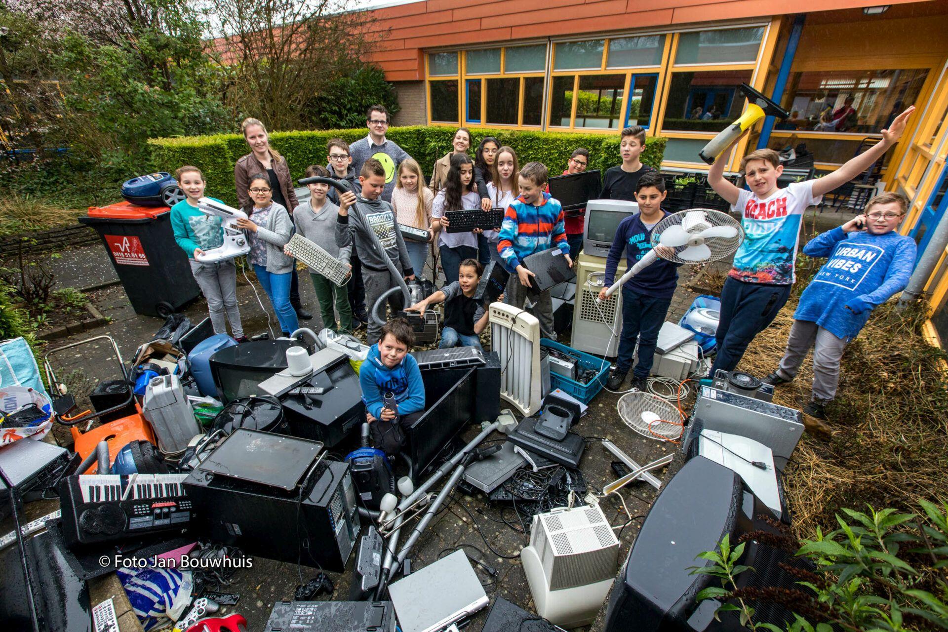 E-Waste Races: Schul-Projekt sammelt Elektroschrott