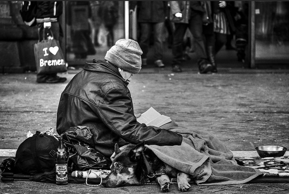 Obdachlos Wikimedia Commons