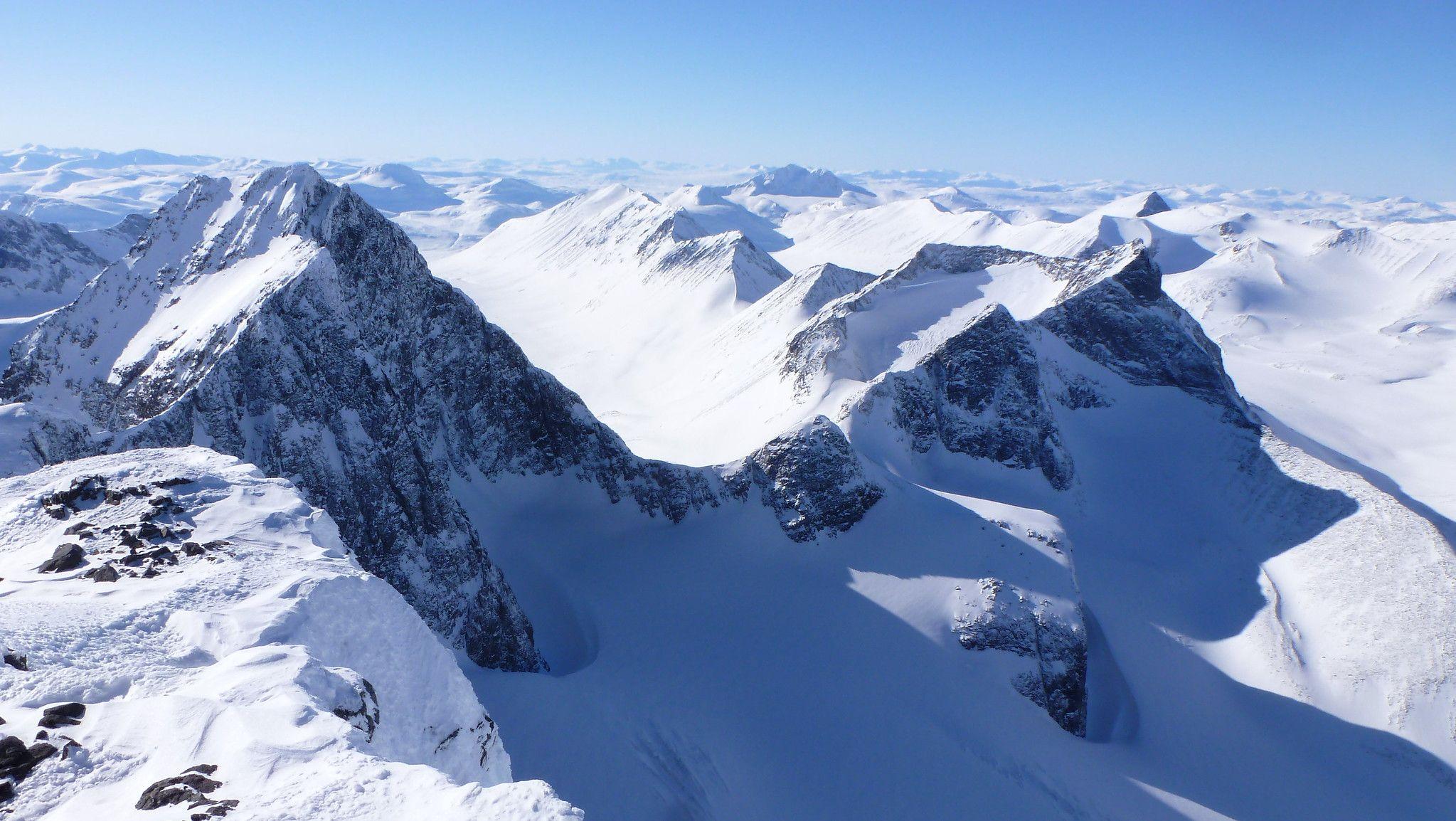 Schwedischer Berg schrumpft durch Gletscherschmelze um zwei Meter