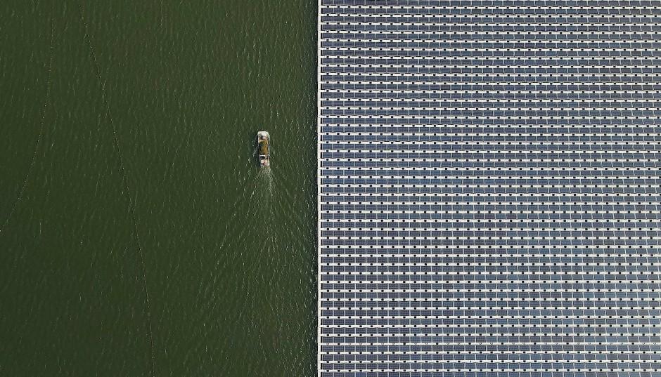 Größter schwimmender Solarpark der Welt