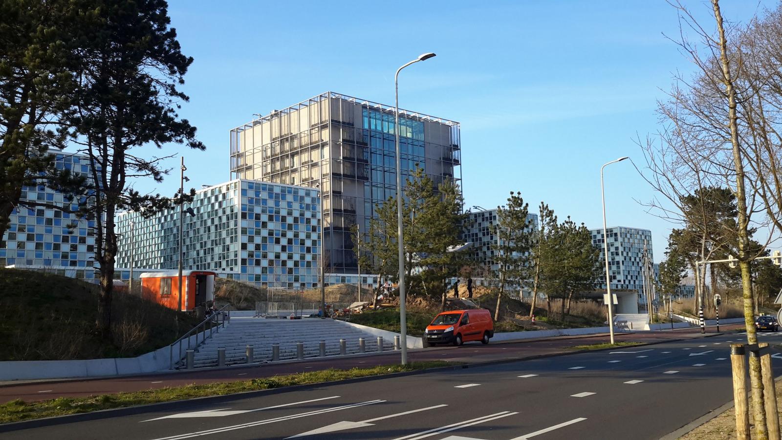 IStGH International Criminal Court Headquarters Netherlands Hypergio wikiccbysa40