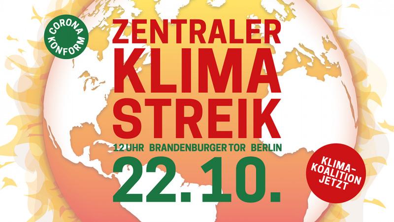 Klimaschutz in den Koalitionsvertrag!