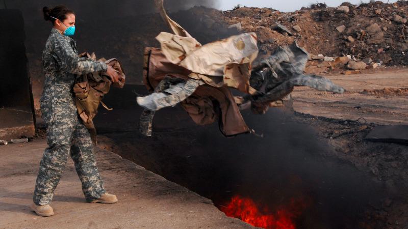 Wie die Müllverbrennung des US-Militärs Tausende vergiftet hat